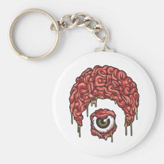 Osiris Brains Icon Basic Round Button Keychain