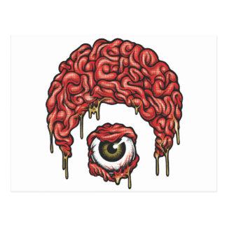 Osiris Brains Icon Postcard