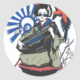 Osiris Geisha Classic Round Sticker