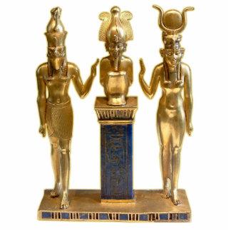 Osiris, Horus, & Isis - Ornament Sculpture