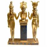 Osiris, Horus, & Isis - Ornament Sculpture Photo Cut Out