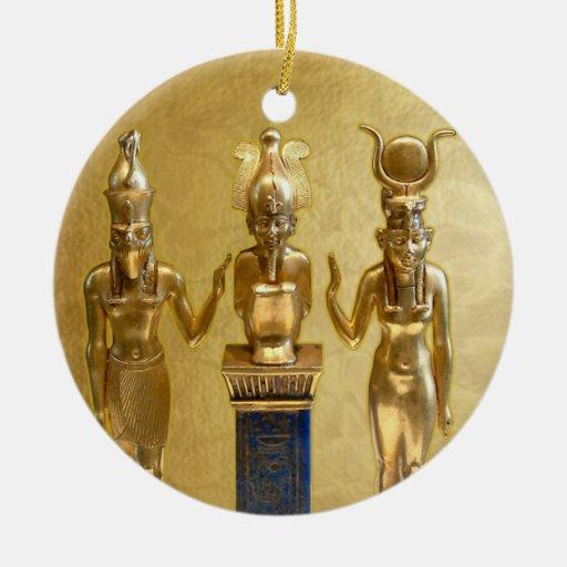 Osiris, Horus, y ISIS - Yule - 4c Ornato