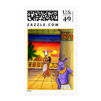 Osiris, Isis, and Seth Obsession Postage
