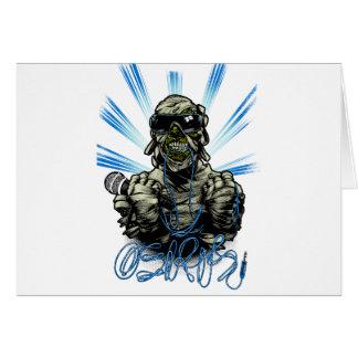 Osiris Mummy Card