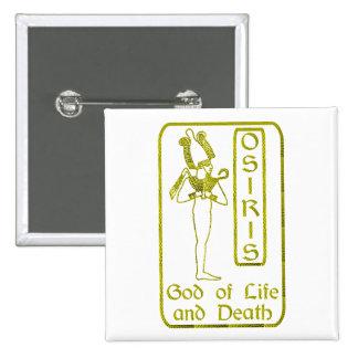Osiris Pin Cuadrada 5 Cm