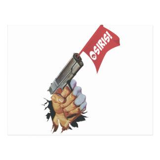 Osiris Pistola Postcard