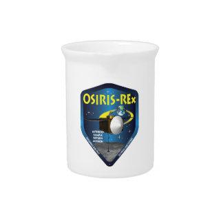 OSIRIS REx Mission Logo Beverage Pitcher