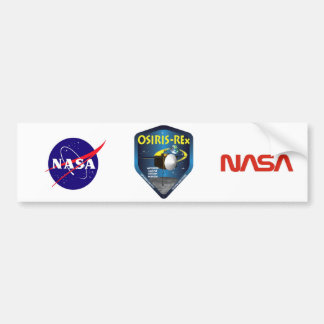 OSIRIS REx Mission Logo Bumper Sticker