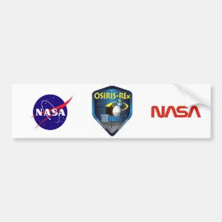 OSIRIS REx Mission Logo Bumper Stickers