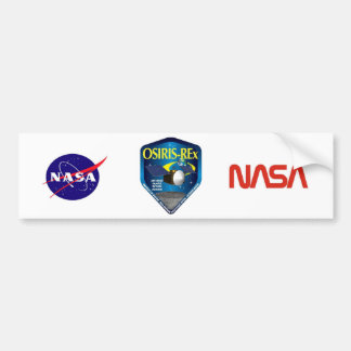 OSIRIS REx Program Logo Bumper Sticker