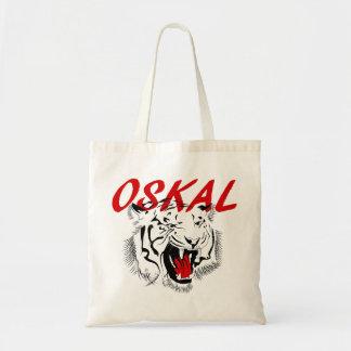 Oskal Big Grin Tiger Tote Bag