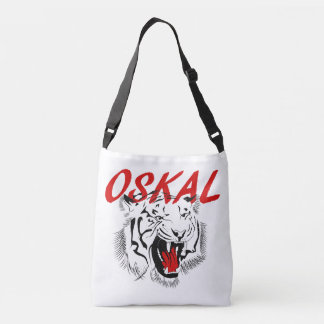 Oskal Russian Prison Tattoo Crossbody Bag