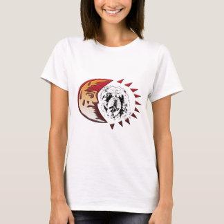 Oskar im Mond T-Shirt