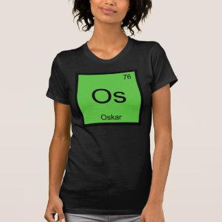 Oskar Name Chemistry Element Periodic Table T-shirt