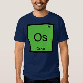 Oskar Name Chemistry Element Periodic Table Tee Shirt
