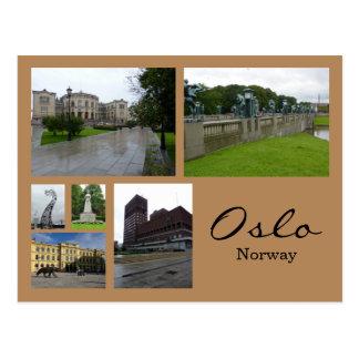 Oslo Collage 1 Postcard