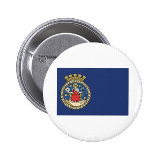 Oslo flag 2 inch round button