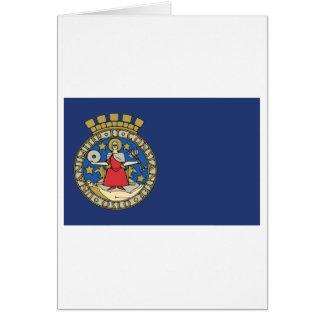Oslo flag card