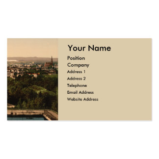 Oslo from St Hanshaugen Park, Norway Double-Sided Standard Business Cards (Pack Of 100)