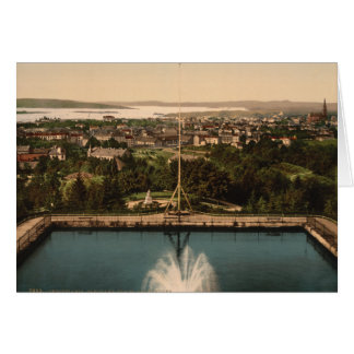 Oslo from St Hanshaugen Park, Norway Card