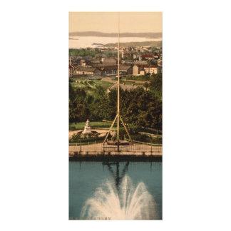 Oslo from St Hanshaugen Park Norway Rack Card Template