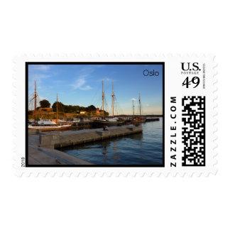 Oslo Harbor Postage