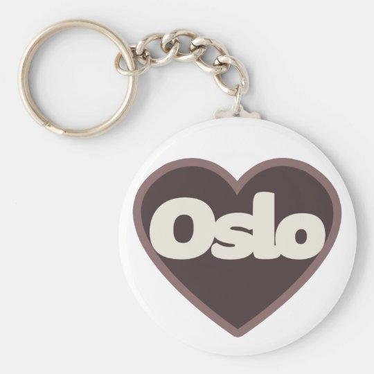 Oslo love keychain