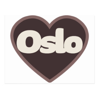 Oslo love postcard
