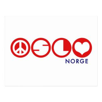 Oslo Norge Postcard