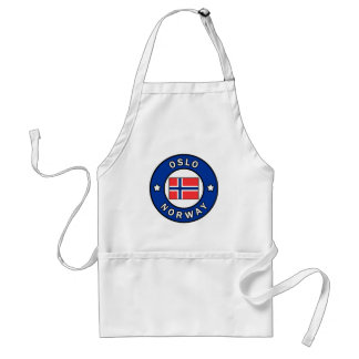 Oslo Norway Adult Apron