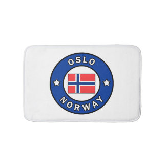 Oslo Norway Bath Mat