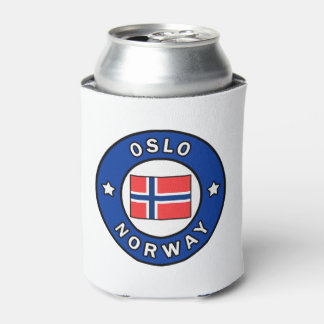 Oslo Norway Can Cooler