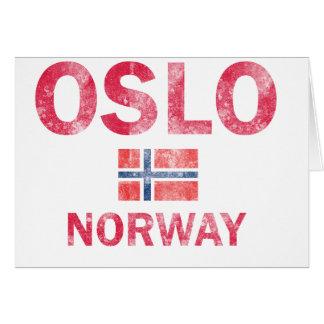 Oslo Norway Designs Card