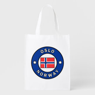 Oslo Norway Grocery Bag