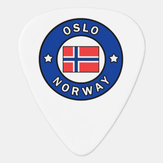 Oslo Norway Guitar Pick
