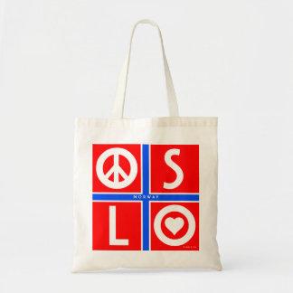 Oslo Norway Love Peace Bag 1