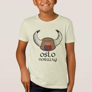 Oslo Norway Viking Hat T-Shirt