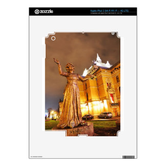 Oslo theatre at night iPad 3 skin