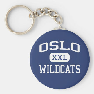 Oslo Wildcats Middle Vero Beach Florida Keychain