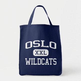 Oslo Wildcats Middle Vero Beach Florida Tote Bag