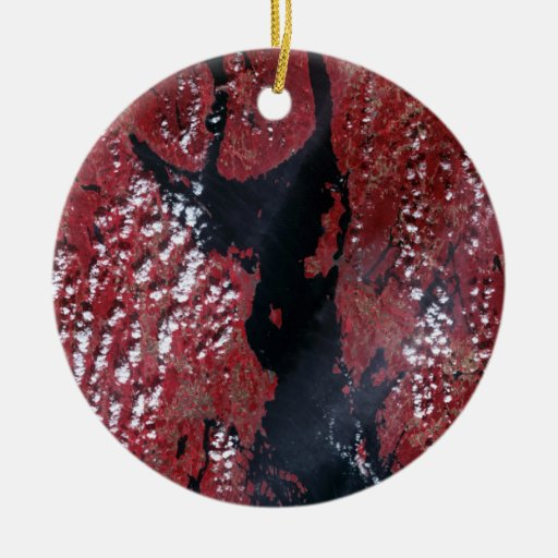 Oslofjorden, Norway Christmas Ornament