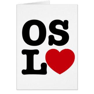 Oslove Card