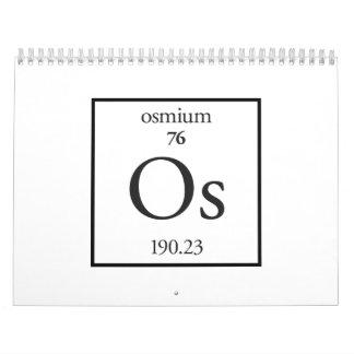 Osmio Calendarios