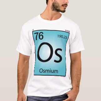 Osmium (Os) Element T-Shirt - Front Only
