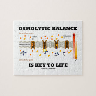 Osmolytic Balance Is Key To Life (Na-K Pump) Jigsaw Puzzle