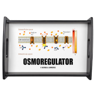 Osmoregulator Sodium-Potassium Pump Biology Serving Tray