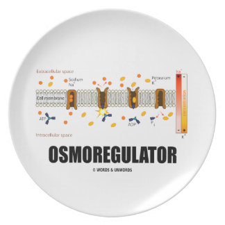 Osmoregulator (Sodium-Potassium Pump) Dinner Plate