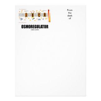 Osmoregulator (Sodium-Potassium Pump) Letterhead