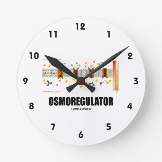 Osmoregulator (Sodium-Potassium Pump) Round Clock