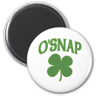 O'Snap irish Shamrock Fridge Magnet